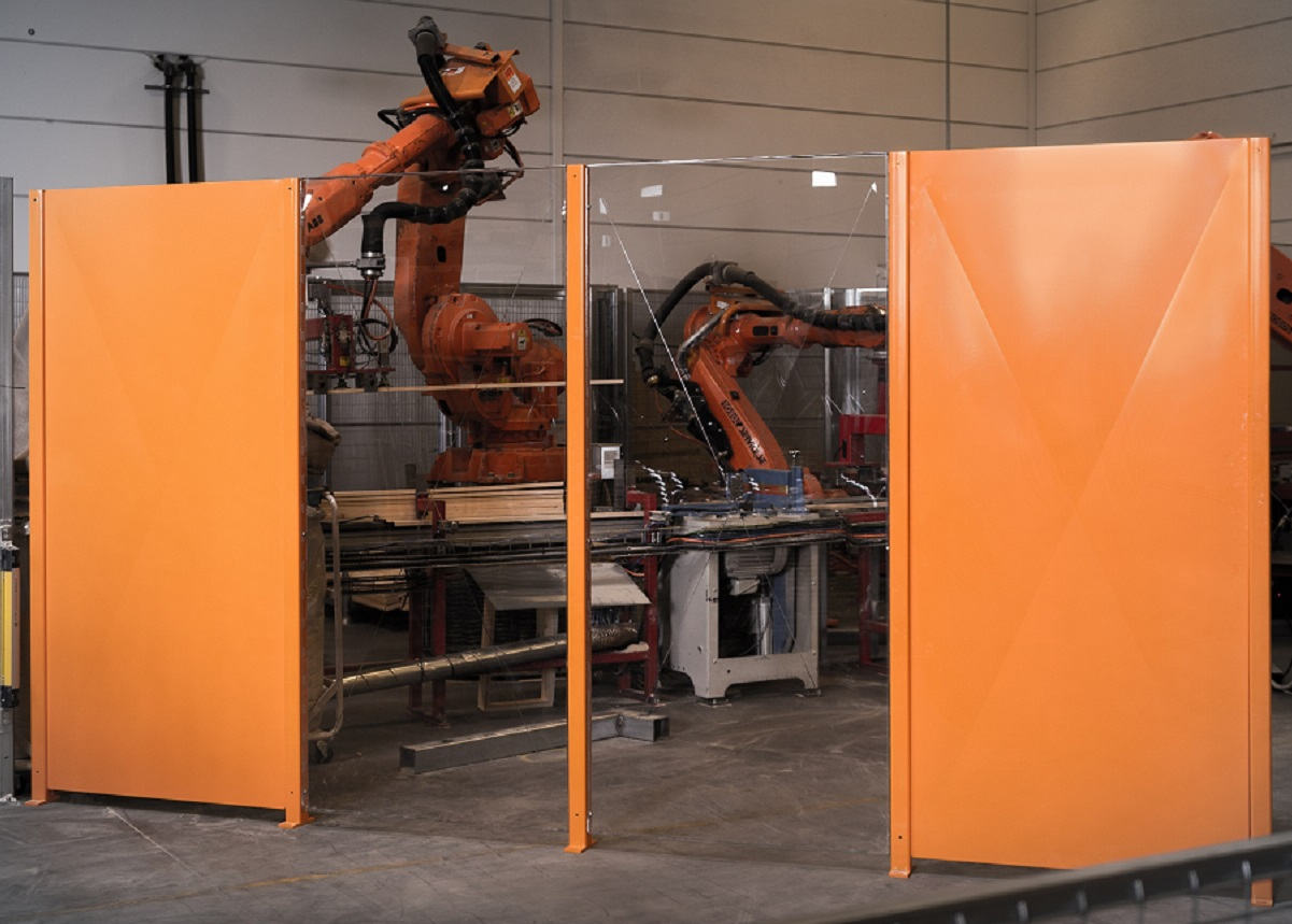machine guards panels plate and polycarbonate